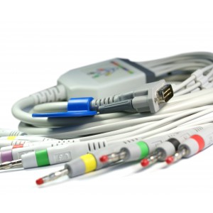 Пациентен кабел, ЕКГ